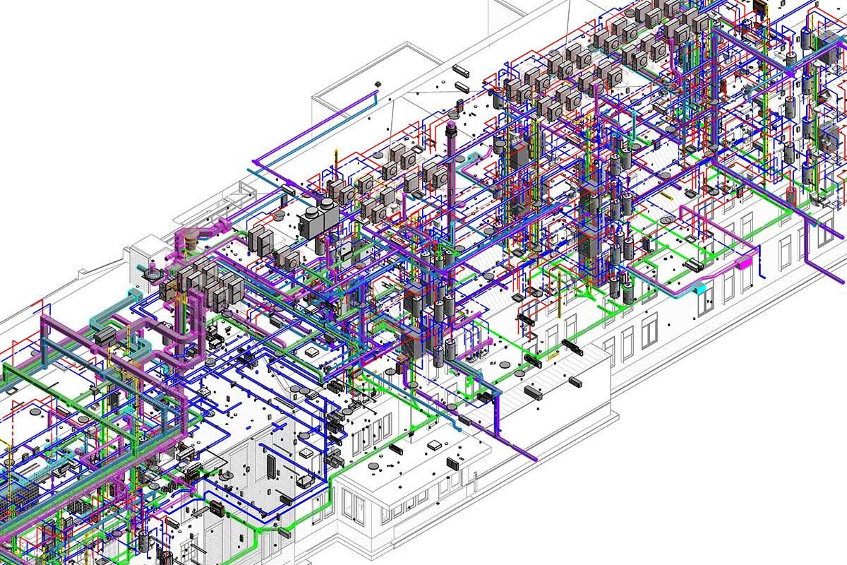 MEP BIM Modeling and Coordination Services in Ontario by United-BIM