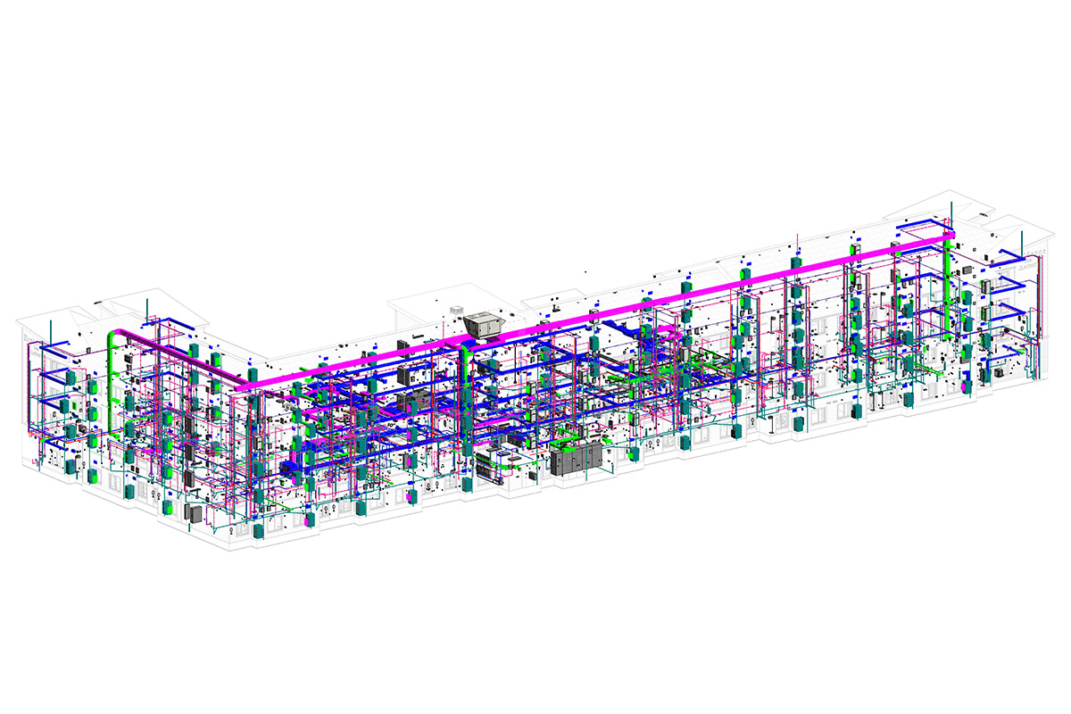 MEP-BIM Modeling and Coordination Services in South Carolina by United-BIM