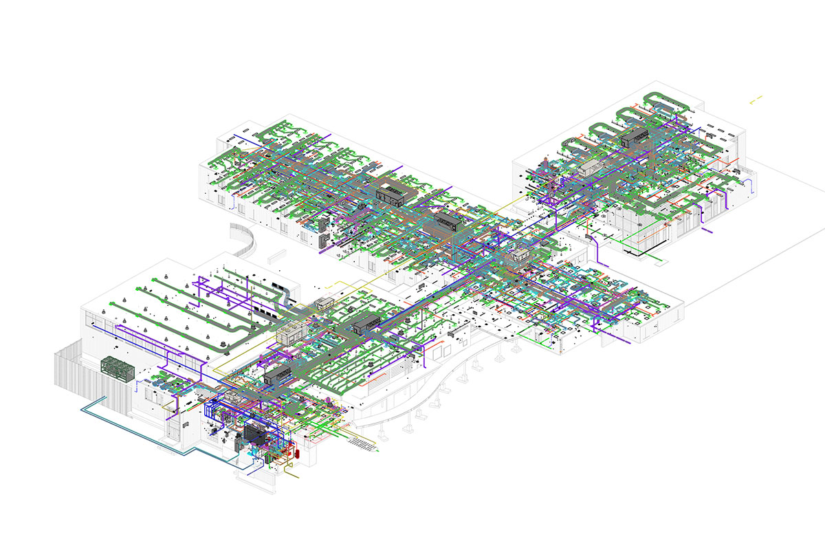 MEP Modeling and Coordination Services in Alberta by United-BIM