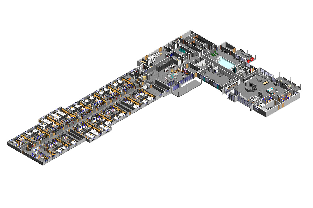 Section View BIM Modeling Services in Virginia by United-BIM