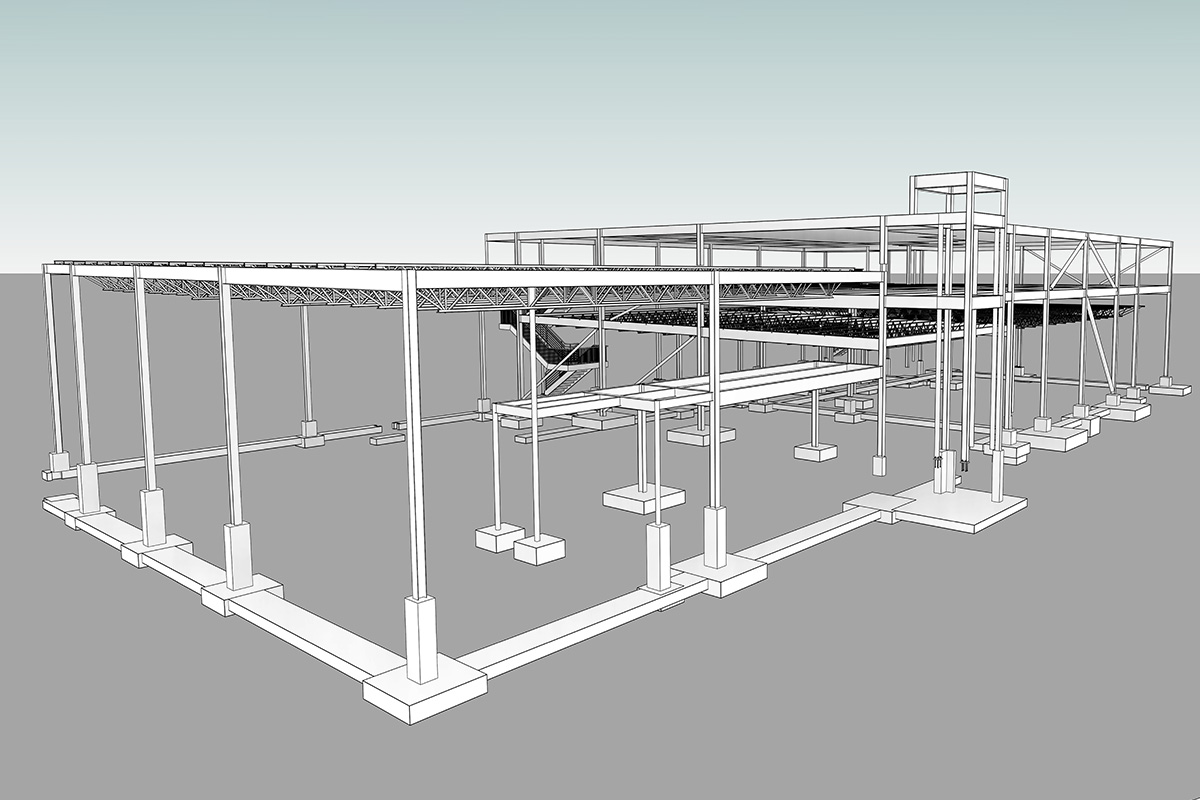 Structural-BIM Modeling and Coordination Services in South Carolina by United-BIM