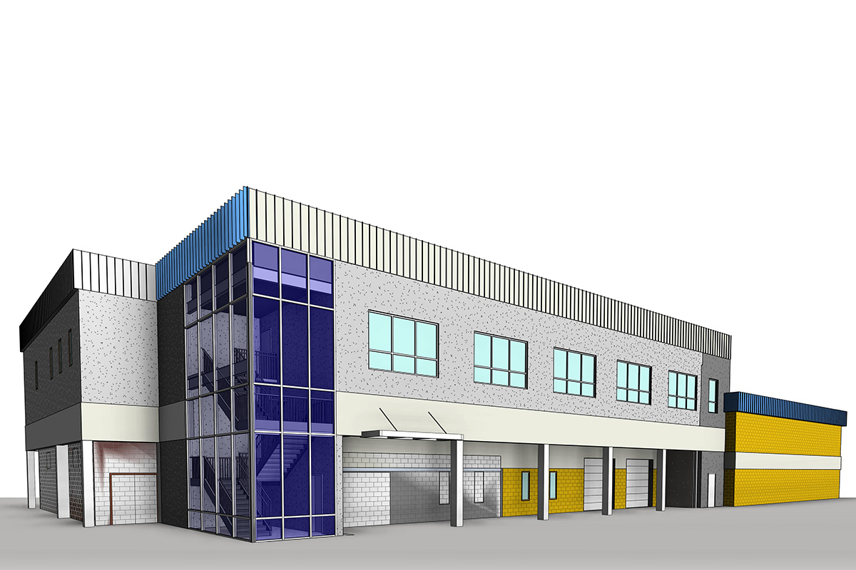 Architectural-BIM Modeling and Coordination Services in Manitoba by United-BIM