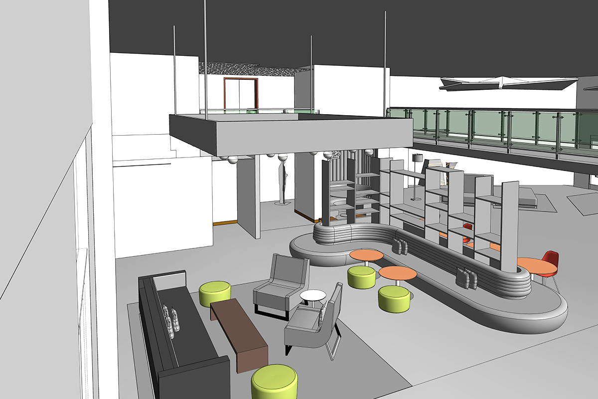 BIM Services in Quebec-for Interior-View-of-Hotel-by-United-BIM
