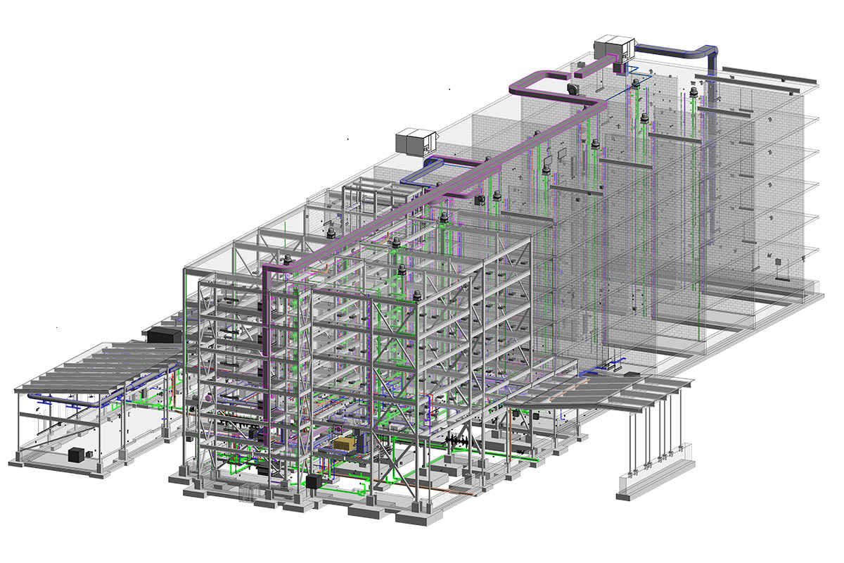 MEP-Modeling-Services-in-Quebec-for-Hotel-by-United-BIM